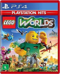 Jogo Lego Worlds Playstation Hits - Ps4 Mídia Física