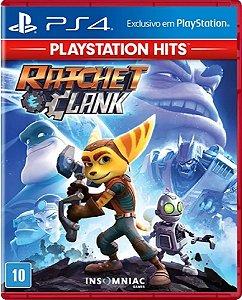 Jogo Ratchet & Clank Playstation Hits - Ps4 Mídia Física