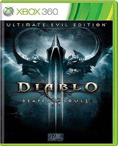 Jogo Diablo Reaper of Souls Ultimate Evil Edition - Xbox 360 Midia Fisica Usado