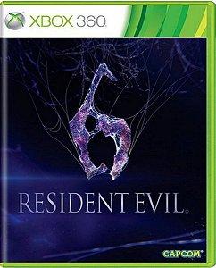 Jogo Resident Evil 6 - Xbox 360 Mídia Física Usado