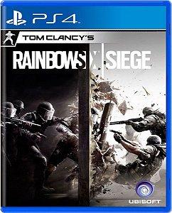 Jogo Rainbow Six Siege - Ps4 Mídia Física Usado