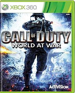 Jogo Call of Duty World At War - Xbox 360 Mídia Física Usado