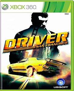 Jogo Driver San Francisco - Xbox 360 Mídia Física Usado