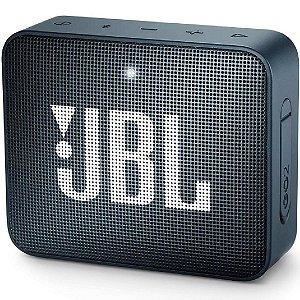 Caixa de Som Bluetooth JBL GO2 Slate Navy