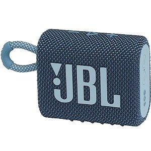 Caixa de Som Bluetooth JBL GO3 Azul