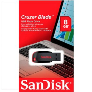 Pen Drive Cruzer Blade Sandisk Z50 8 GB
