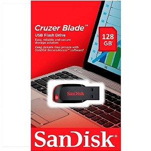 Pen Drive Cruzer Blade Sandisk Z50 128 GB