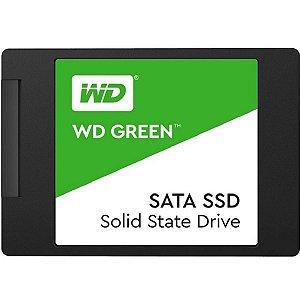 Memória SSD WD Green 480GB 545MB/s SATA III - WDS480G2G0A