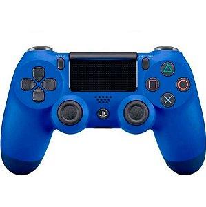 Controle DualShock 4 Original Sony Azul - Ps4