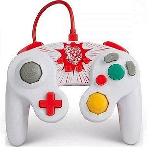 Controle Nintendo Switch Game Cube Smash Bros Ultimate - PowerA