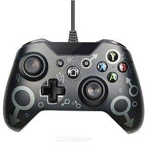 Controle Xbox One S com Fio N-1 Preto