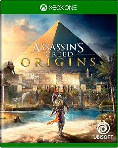 Jogo Assassin's Creed Origins - Xbox One Mídia Física Usado