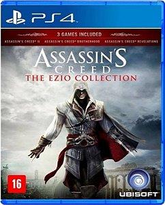 Jogo Assassin's Creed The Ezio Collection - Ps4 Usado