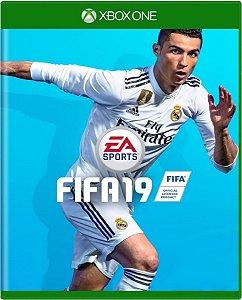 Jogo Fifa 19 - Xbox One Mídia Física Usado