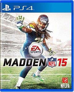 Jogo Madden NFL 15 - PS4 Mídia Física Usado