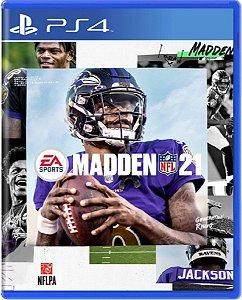 Jogo Madden NFL 21 - Ps4 Mídia Física Usado