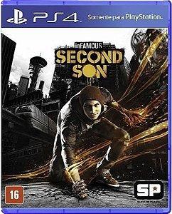 Jogo Infamous Second Son Playstation Hits - Ps4 Mídia Física Usado