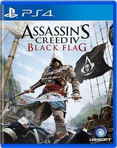 Jogo Assassin's Creed 4 Black Flag - Ps4 Mídia Física Usado