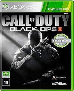 Jogo Call of Duty Black Ops II - Xbox 360 Mídia Física Usado