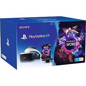 Playstation VR Bundle Edition Game Worlds Usado