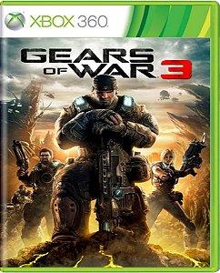 Jogo Gears of War 3 - Xbox 360 Mídia Física Usado