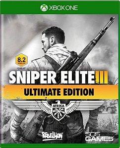 Jogo Sniper Elite III Afrika Ultimate Edition - Xbox One Mídia Física Usado