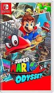 Jogo Super Mario Odyssey - Nintendo Switch Usado