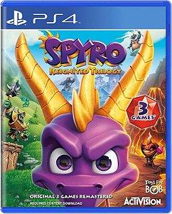 Jogo Spyro Reignited Trilogy - Ps4 Mídia Física Usado