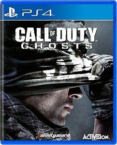 Jogo Call of Duty Ghosts - Ps4 Mídia Física Usado