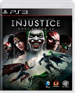 Jogo Injustice Gods Amongs Us - Ps3 Mídia Física Usado