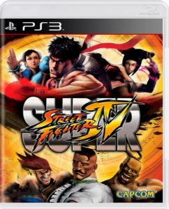Jogo Super Street Fighter IV - Ps3 Mídia Física Usado