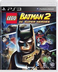 Jogo Lego Batman 2 DC Super Heroes - PS3 Mídia Física Usado