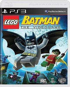 Jogo Lego Batman The Video Game - Ps3 Mídia Física Usado