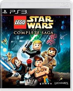 Jogo Lego Star Wars The Complete Saga - Ps3 Mídia Fìsica Usado