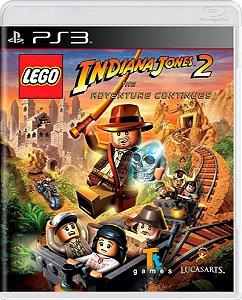 Jogo Lego Indiana Jones 2 The Adventure Continue - PS3 Usado