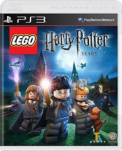 Jogo Lego Harry Potter Years 1-4 - Ps3 Mídia Física Usado