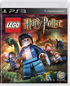 Jogo Lego Harry Potter Years 5-7 - Ps3 Mídia Física Usado