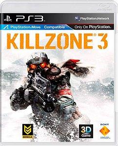 Jogo Killzone 3 - Ps3 Mídia Física Usado