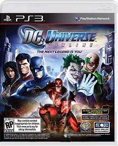 Jogo DC Universe Online - Ps3  Mídia Física Usado