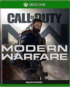 Jogo Call of Duty Modern Warfare Xbox One Mídia Física Usado