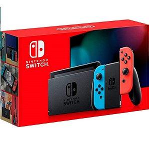 New Nintendo Switch 32GB Standard Neon Usado