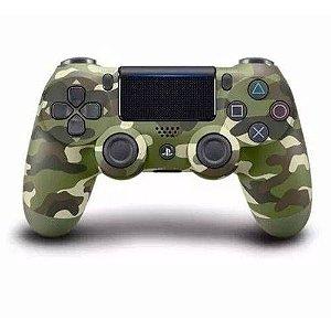 Controle Original Sony Verde Camuflado - Ps4