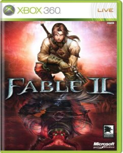 Jogo Fable II  - Xbox 360 Mídia Física Usado