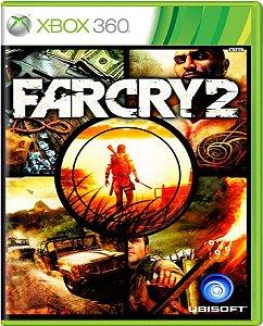 Jogo Far Cry 2  - Xbox 360 Mídia Física Usado