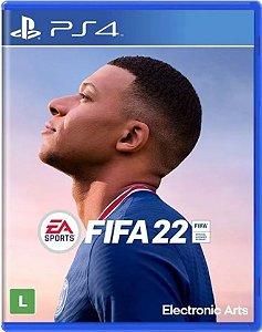 Jogo Fifa 22 - PS4 Mídia Física (Pré-Venda)