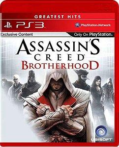 Jogo Assassin's Creed Brotherhood Greatest Hits - Ps3 Mídia Física Usado