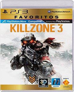 Jogo Killzone 3 Favoritos - Ps3 Mídia Física Usado