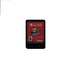 Jogo Super Mario Odyssey - Nintendo Switch Usado Loose