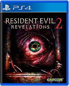 Jogo Resident Evil Revelations 2 - Ps4 Mídia Física Usado