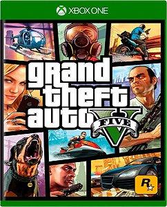 Jogo GTA V - Xbox One Mídia Física Usado